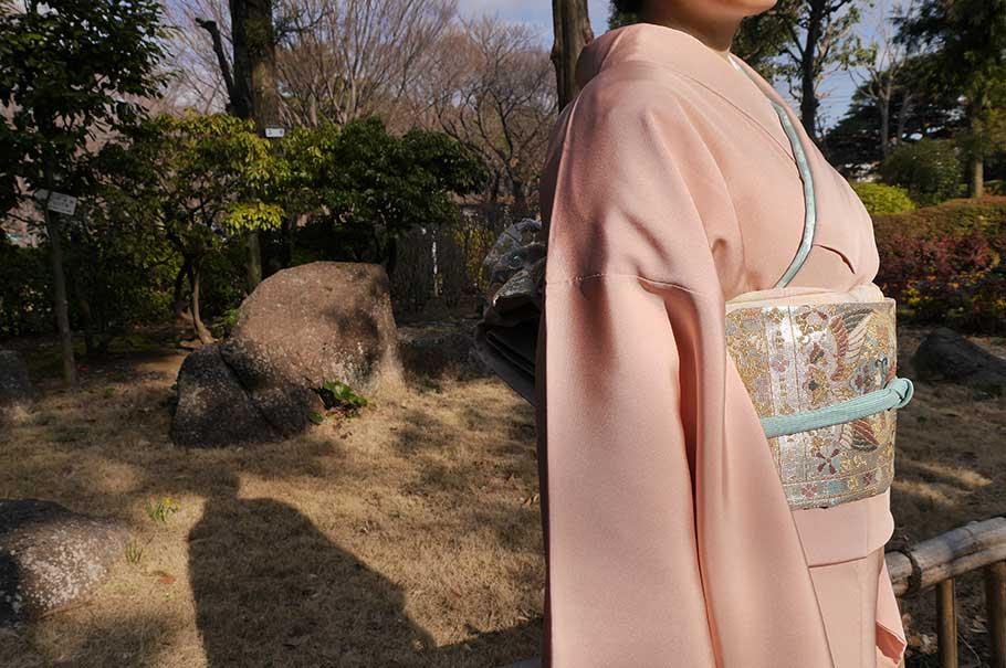 留袖出張着付け(本格着付け)¥5,000円